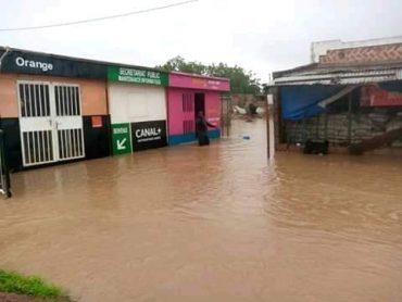 Sanguié : La commune de Ténado sous les eaux après une pluie de 100 mm