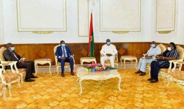 Comité interparlementaire du G5 Sahel : Le secrétaire exécutif reçu par le Premier ministre